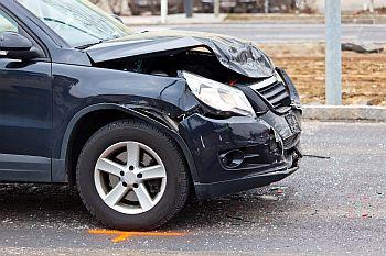 Autounfall - geliehenes Fahrzeug